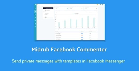 Facebook Commenter - automatically moderates and sends private messages with templates