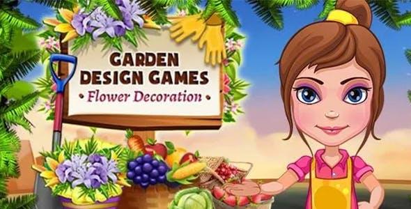 Garden Design Games – Flower Decoration
