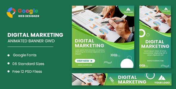 Business Digital Animated Banner GWD