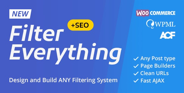 Filter Everything v1.3.0 – WordPress & WooCommerce products Filter