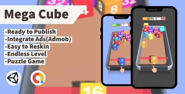 Mega Cube (Unity+Admob+Android+iOS)