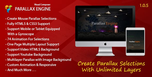 Parallax Engine - Addon For WPBakery Page Builder (Visual Composer)