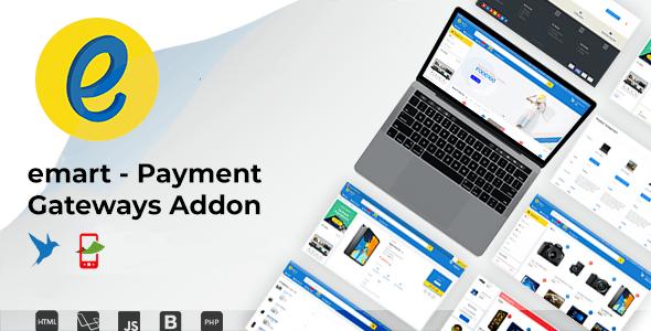 emart - Payment Gateways Addon