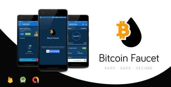 Bitcoin Faucet Full Android Application | Top Traffic Driving App | Google AdMob | Google Firebase