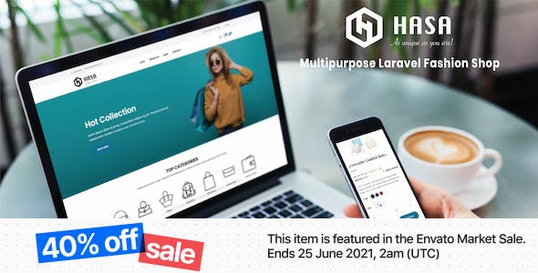 HASA - Multipurpose Laravel Fashion Shop