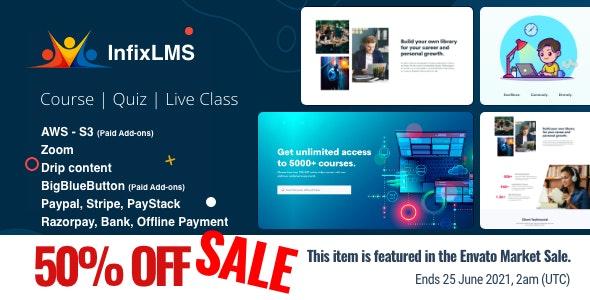 Infix LMS v3.0.5 – Learning Management System