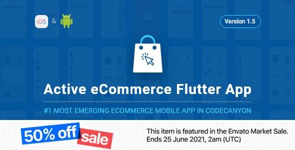 Active eCommerce Flutter App
