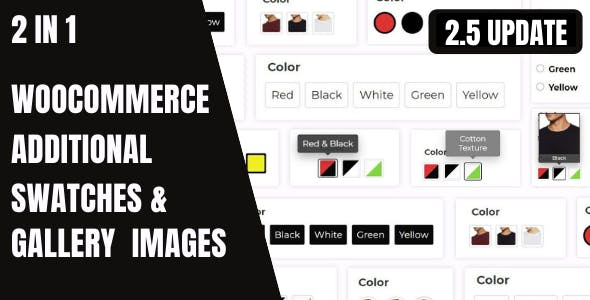 WooCommerce Variation Swatches And Additional Gallery