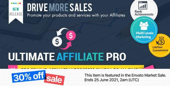 Ultimate Affiliate Pro WordPress Plugin by azzaroco | CodeCanyon