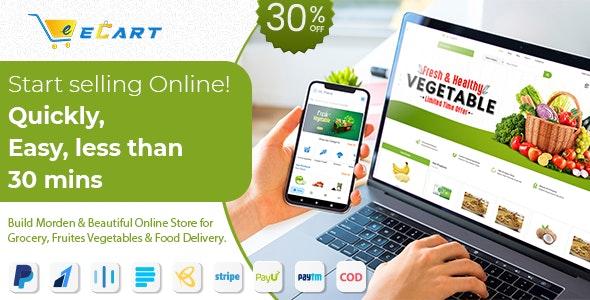 eCart Web v2.1.0.1 – Ecommerce / Store Full Website