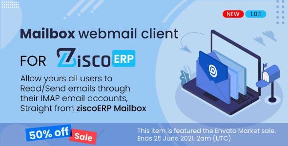 Mailbox - e-mail client for ZiscoERP