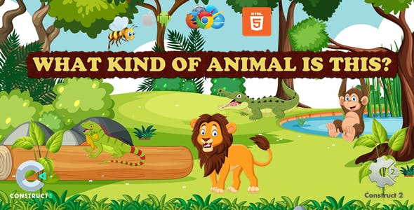 What Kind Of Animal Is This - Educational Game - (Capx/C3p)