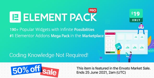 Element Pack - Addon for Elementor Page Builder WordPress Plugin