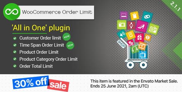 WooCommerce Order Limit