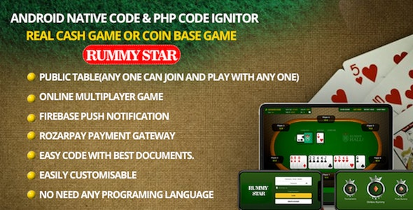 Rummy Star Remote Play - CodeCanyon Item for Sale