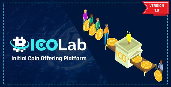 ICOLab - Initial Coin Offering Platform - CodeCanyon Item for Sale