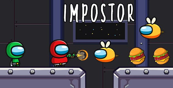 Impostor Runner - Android Game With Admob ( Ready to Publish )
