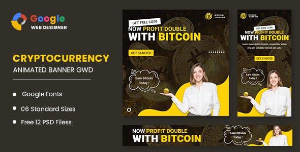 Bitcoin Animated Banner Google Web Designer