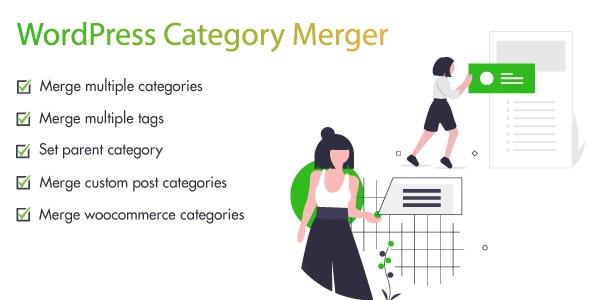 WordPress Merge Categories - CodeCanyon Item for Sale