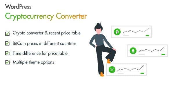 WordPress Cryptocurrency Converter