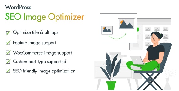 Seo Image Optimizer for WordPress and WooCommerce - CodeCanyon Item for Sale