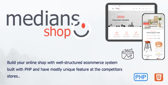 Medians - E-commerce PHP script for online stores - CodeCanyon Item for Sale