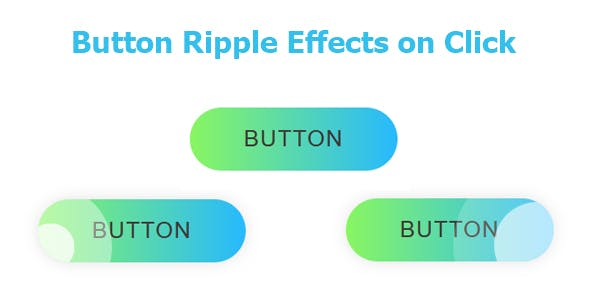 Button Ripple Effects on Click