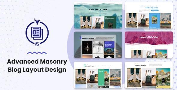 Advanced Masonry Blog Layout Design