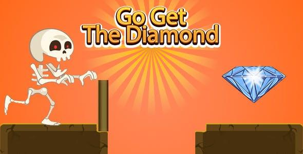 Go Get The Diamond (CAPX | HTML5 | Cordova) Mini Game