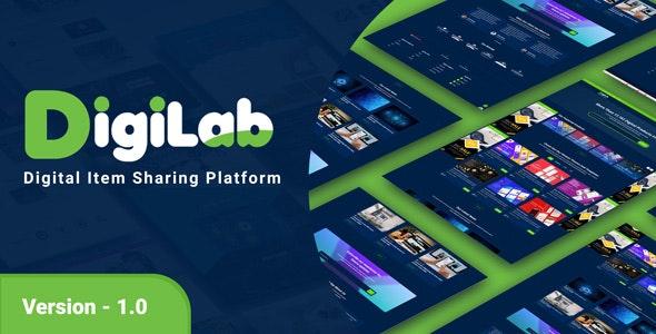 DigiLab - Digital Item Sharing Platform - CodeCanyon Item for Sale