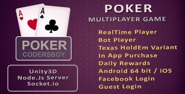 Poker Online Multiplayer Game