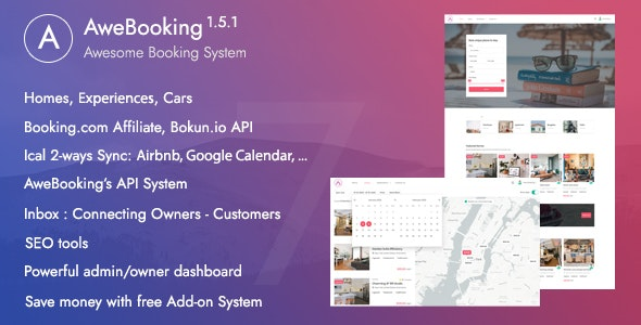 AweBooking v1.5.1 – Online Booking System – Bokun.io API supported