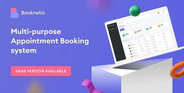Booknetic SaaS - WordPress Appointment Booking and Scheduling system