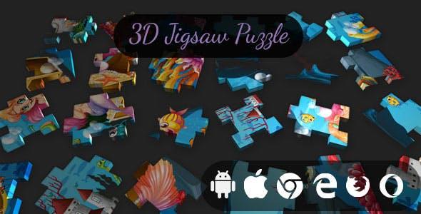 3D Jigsaw Puzzle - Cross Platform Classic Puzzle Game