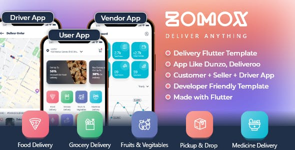 Zomox On-Demand Home Services Business Listing Handyman Booking Template