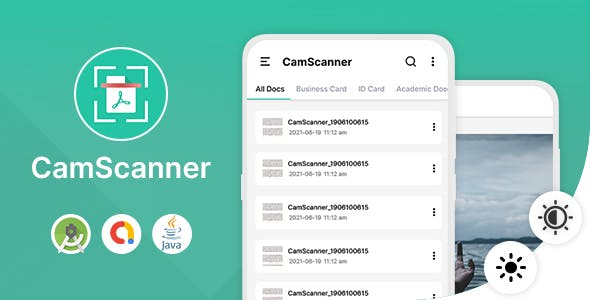 Cam Scanner - Android App with Admob Ads