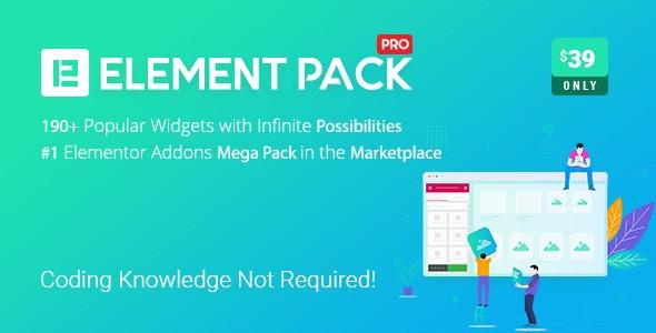Element Pack v5.11.1 – Addon for Elementor Page Builder