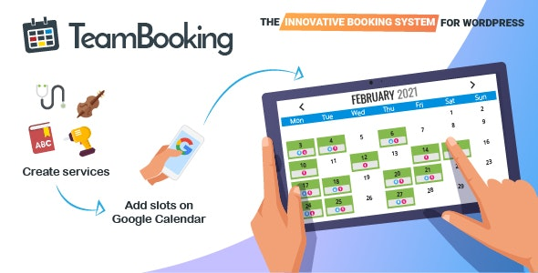 Team Booking - WordPress Booking System - CodeCanyon Item for Sale