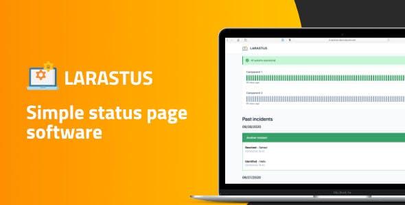 Larastus - Status Page Software