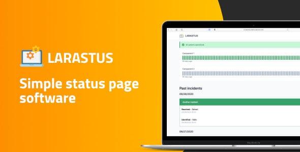 Larastus - Status Page Software - CodeCanyon Item for Sale