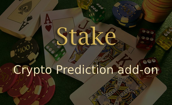 Crypto Prediction Add-on for Stake Casino Gaming Platform - CodeCanyon Item for Sale