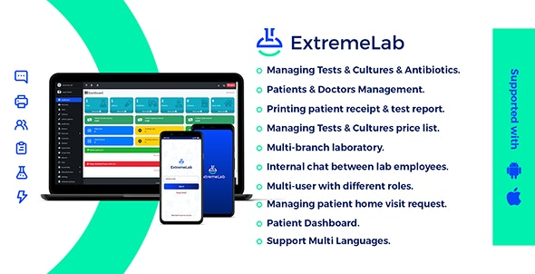 Extreme Laboratory Management System - CodeCanyon Item for Sale