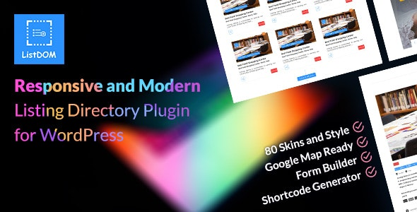 Listdom – Advanced Directory and Listing Plugin - CodeCanyon Item for Sale