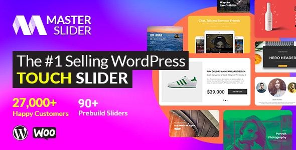 Master Slider v3.5.9 – WordPress Responsive Touch Slider