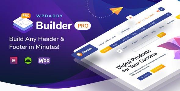 WPDaddy Header & Footer Builder for Elementor