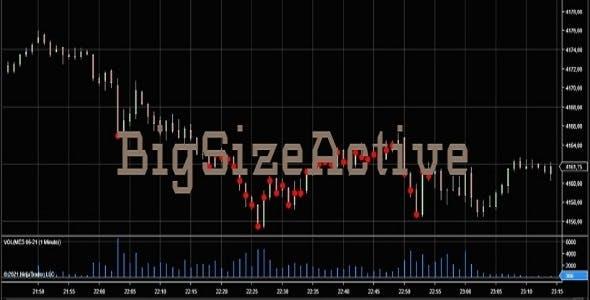 A Big Size Active Indicator For Ninja Trader 8