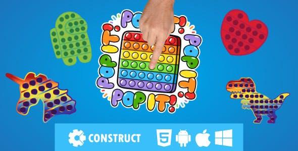 Pop it Fidget - HTML 5 Mobile Game