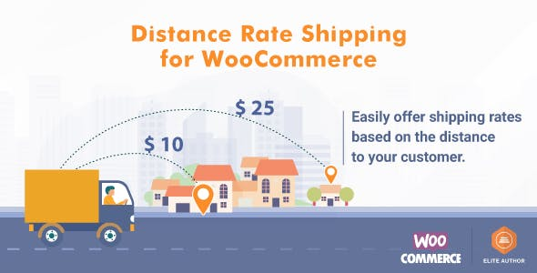 Distance Rate Shipping for WooCommerce