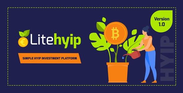 LiteHYIP v1.0 – Simple HYIP Investment Platform