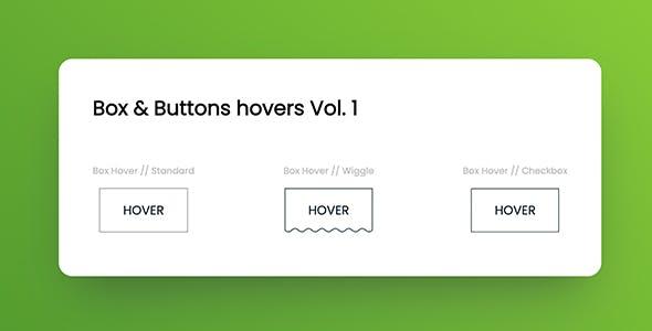 Box & Button hovers Vol. 1